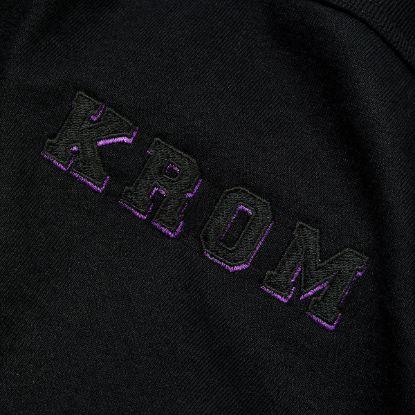KROM x Champion T shirt Black