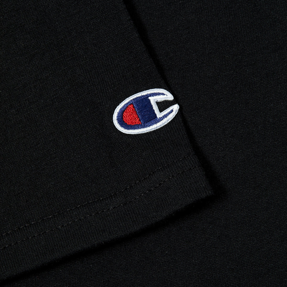 KROM x Champion T shirt Black